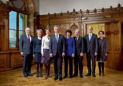 Le Conseil fédéral 2014