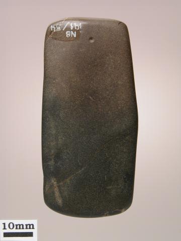 Lissoir en schiste siliceux