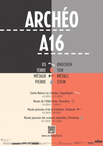 Affiche Archéo A16