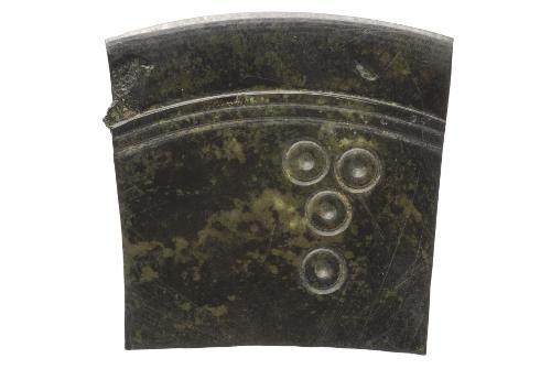 Fragment de miroir en bronze