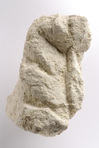 Feuille d'acanthe en calcaire