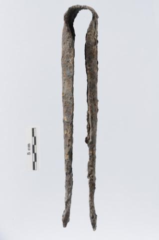 Pince de verrier en acier forgé