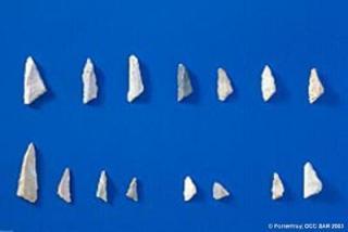 Armatures microlithiques