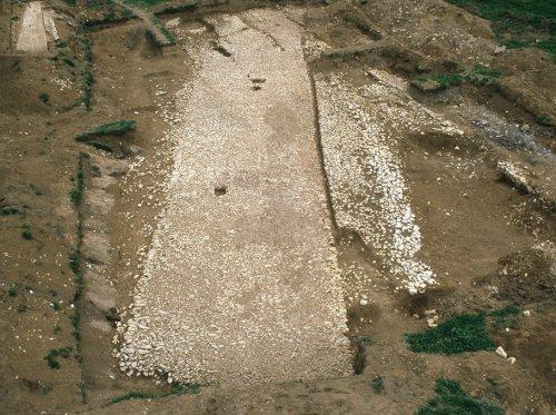 Voie romaine à Porrentruy, Sous Hermont